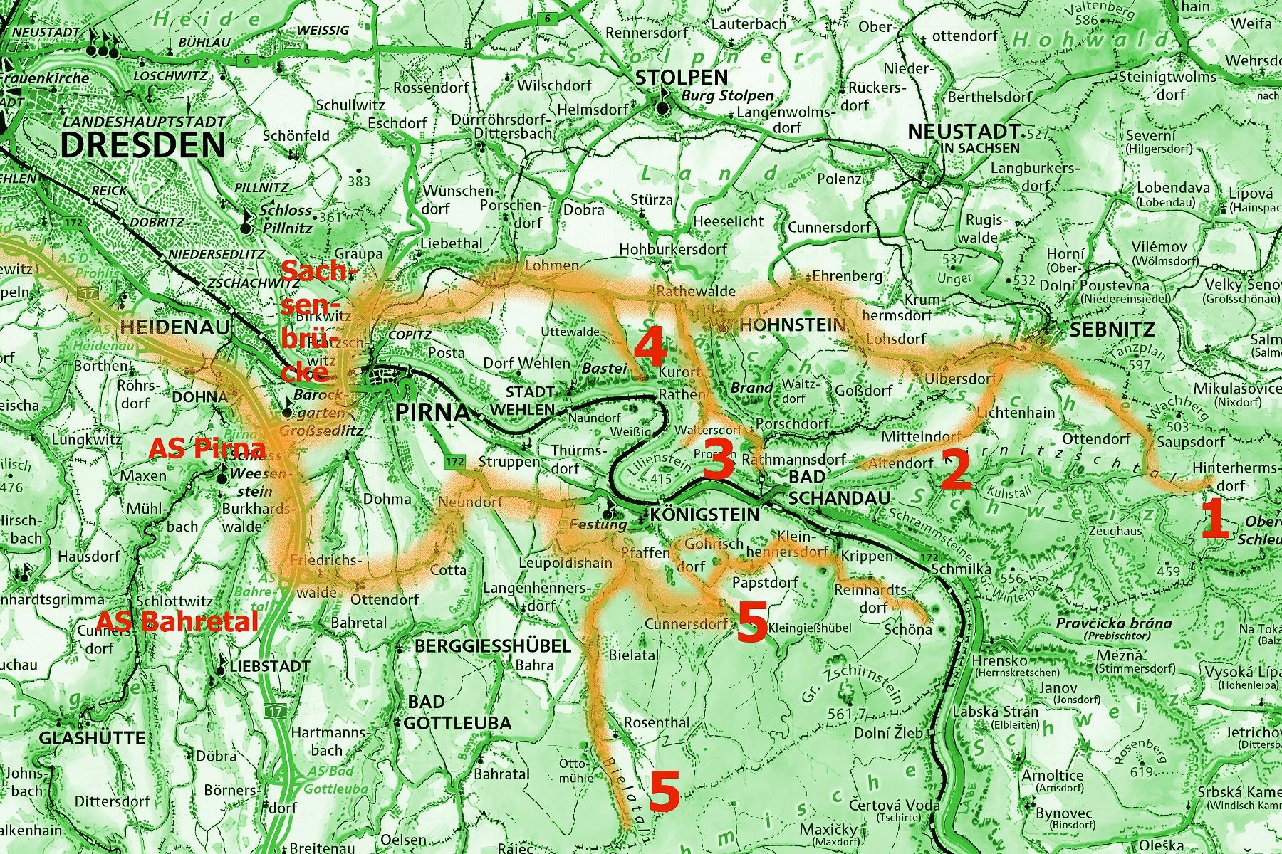 landkarte italien online