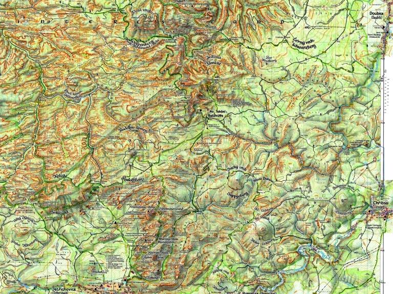 Karte Des Untergangs.Die Bohm Wanderkarten Neuigkeiten